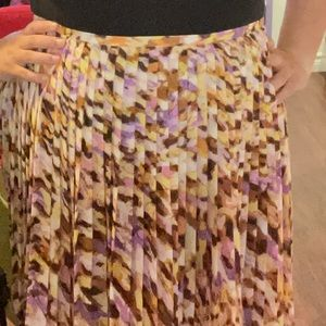 NWT | JNY Women's 16 Pleated Skirt